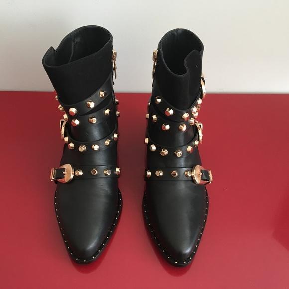 8122bf236ceb1 Ivy Kirzhner Shoes | Circuit Black Leather Boot | Poshmark